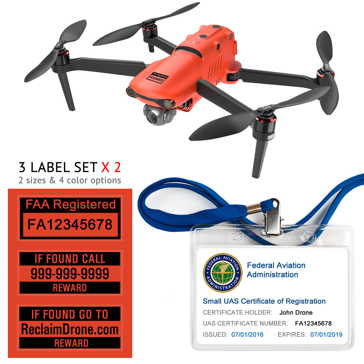Autel Evo 2 – Bundle – FAA Registration Labels and Hobbyist FAA ID Card-2-1-black-1200px