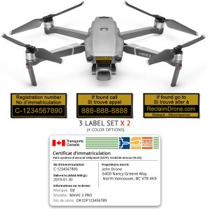 Mavic 2 Pro | Zoom drone registration bundle for Canada - French version