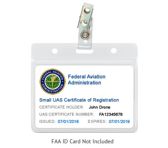 FAA Registration ID Display Package - Basic