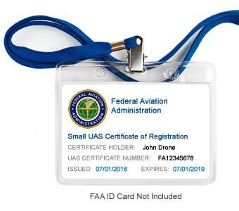 FAA Registration ID Display Package