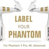 DJI Phantom 3 FAA Registration and phone number Labels